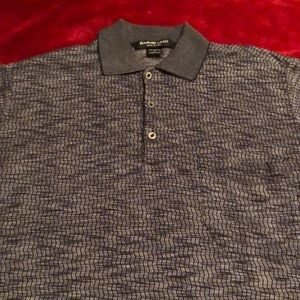 Emme Uno-Large Golf shirt- Made In Italy- Large